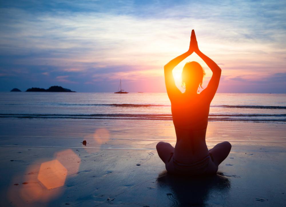 Meditation in Stille und Einsamkeit