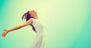Osho Meditation einer glücklichen Frau